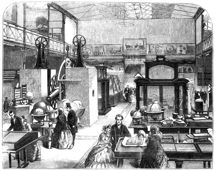 The Educational Collection at the South Kensington Museum, London, 1857.