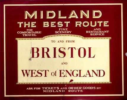 Midland Railway poster, c.1920s.