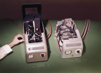 Flame photometer, c 1960s.