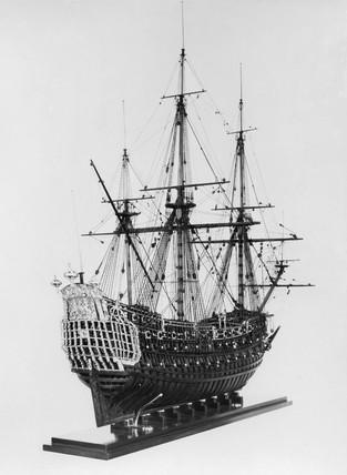 HMS 'Loyal London', 1666.