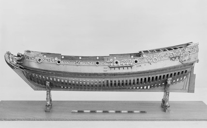 Royal Yacht. Model.