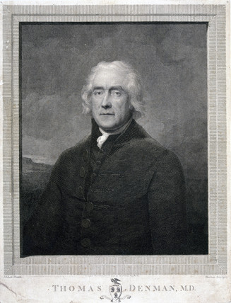 Thomas Denman, obstetrician, 1792.