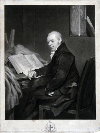 Joshua Brookes, British anatomist, c 1820s.