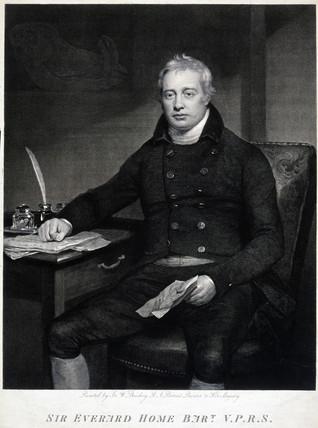 Sir Everard Home, British surgeon, c 1810.