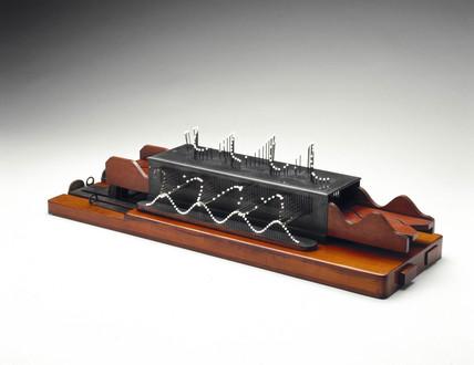 Wheatstone's wave machine, c 1842.