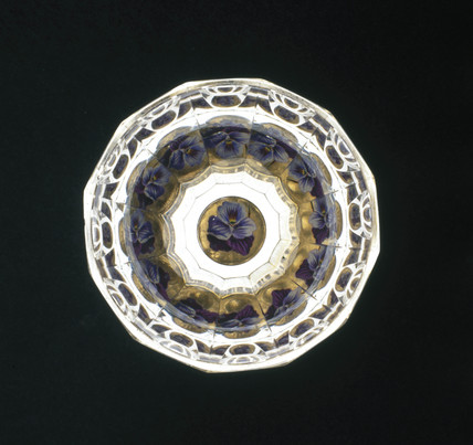 Multiplying glas, 1840-1850.