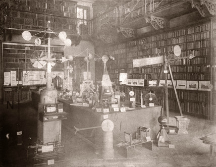 Exhibition of anemometers, Royal Meteorological Society, 1882.