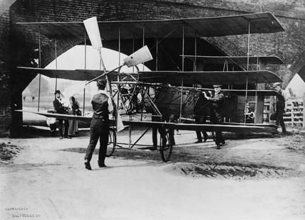 A V Roe's Triplane, 1909.