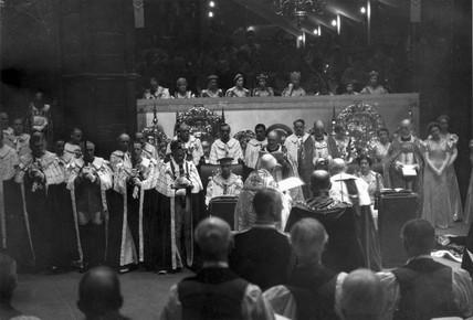 Coronation of George VI (1895-1952), 12 May