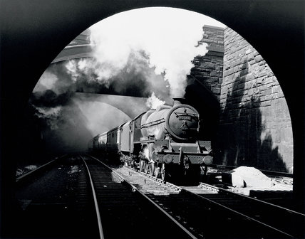 'South Australia' locomotive, Edge Hill, Liverpool, mid 1950s.