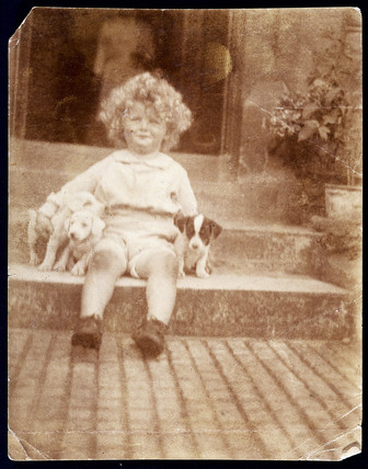 Arthur C Clarke aged c 3 years, c 1920.