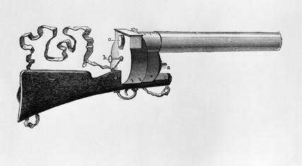 Marey's photographic gun, 1895.