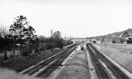 Broadstone Junction Station, Dorset, c 1930