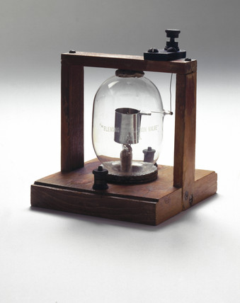 Fleming diode, British, 1905.