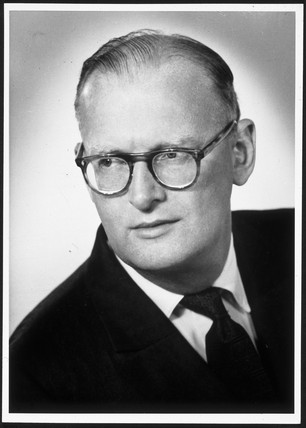 Arthur C Clarke, 1960.