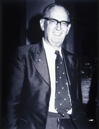 Arthur C Clarke, late 1970s.