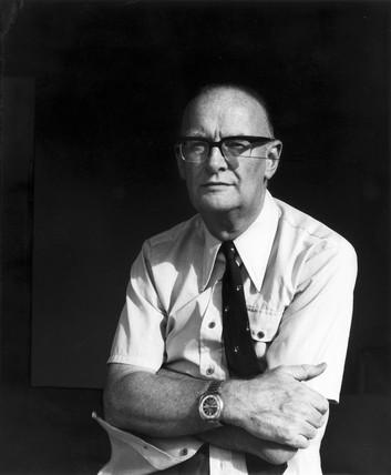 Arthur C Clarke, c 1970.