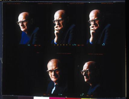 Arthur C Clarke, c 1970s.
