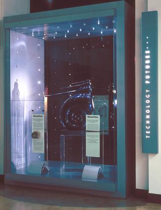 Nautilus loudspeakers, c 1995.