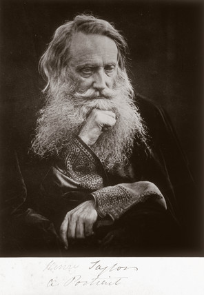'Henry Taylor a portrait', 1866.