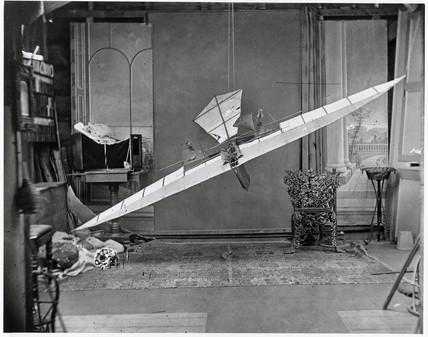 Stringfellow's flying machine, 1848.