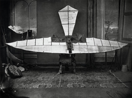 Stringfellow's flying machine, 1848.