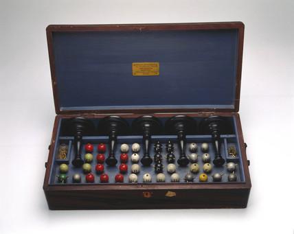 Molecular modelling kit, 19th-20th century.