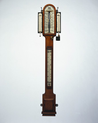 Fitzroy's storm barometer, 1871-1880.