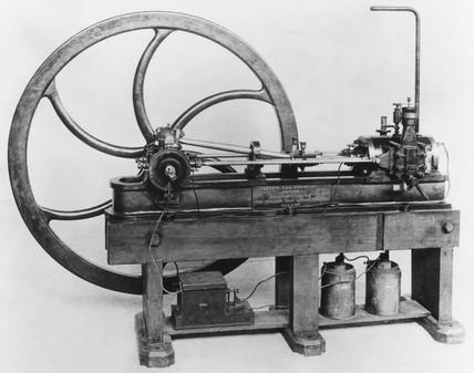 Lenoir Gas Engine, 1860.