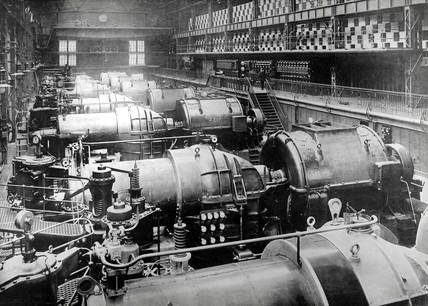 Carville Power Station, Newcastle, 1907.