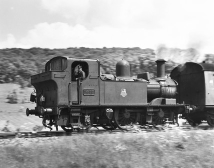 Steam locomotive, 5 May 1960.
