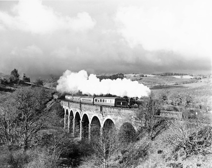 British Railways steam locomotive, 1951. Th