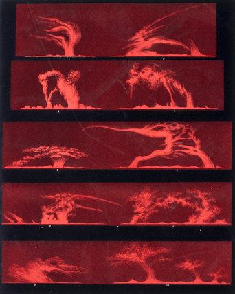 Solar prominences, Plate 8, 1872.