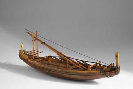 Egyptian seagoing ship, c 2500 BC.