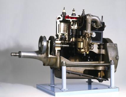 Austin Seven four-stroke engine, 1928.