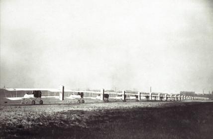 Voisin Type III biplanes, c 1914.