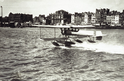A Salmson-engined Breguet seaplane, 1913.