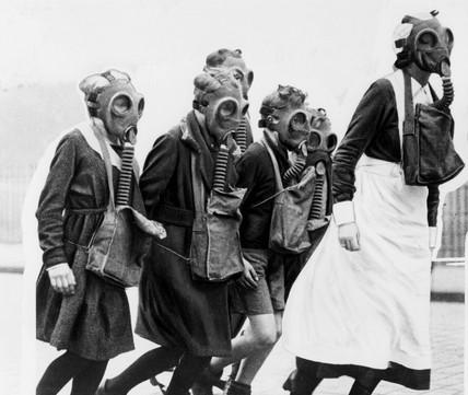 Gas drill 1934