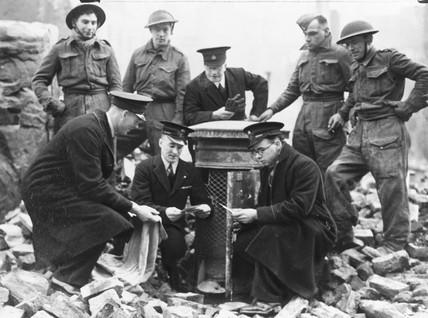 Wartime postal service, 14 January 1941.