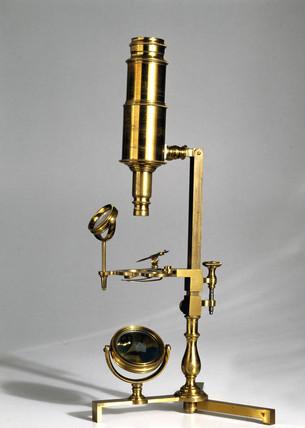 Joseph Priestley's microscope, 1767.