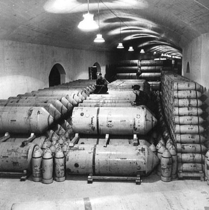 Royal Air Force bomb depot, 11 December 194