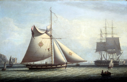Maltese cutter, c 1780.