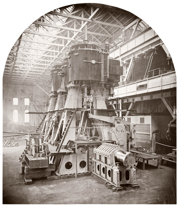 Engine of the s 'Orient', c 1890.