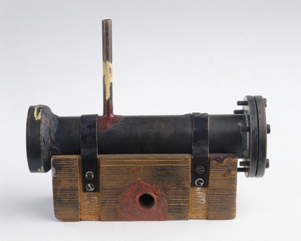 Chadwick's neutron detector, c 1932.