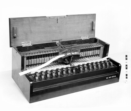 Wheatstone typewriter, 1851.