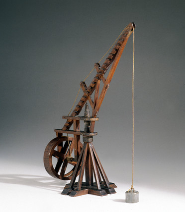 Rat's tail crane, 1735-1752.