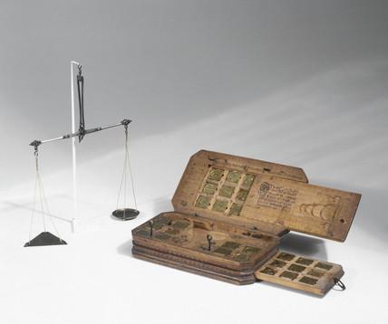 Money-changer's balance, 1653.