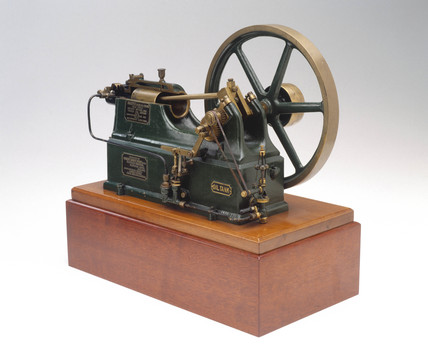 Akroyd crude oil engine, 1890.