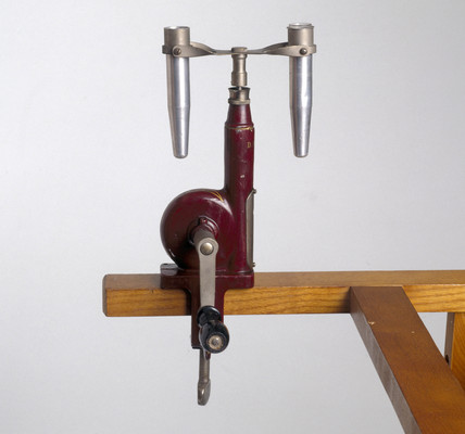 Hand centrifuge, 1912.