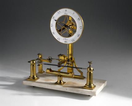 Pixii pyrometer, mid 19th century.